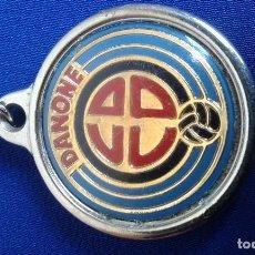 Coleccionismo deportivo: LLAVERO FUTBOL DANONE. Lote 162651962