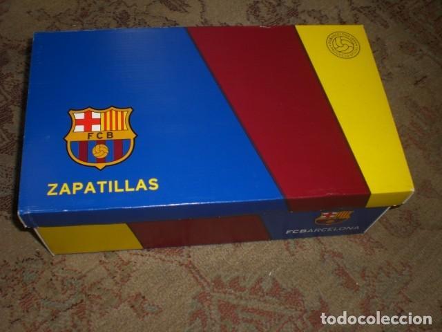 CAJA ZAPATILLAS BARÇA (Coleccionismo Deportivo - Merchandising y Mascotas - Futbol)