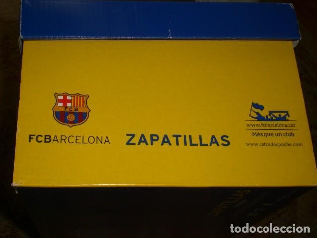 Coleccionismo deportivo: caja zapatillas Barça - Foto 3 - 164800474