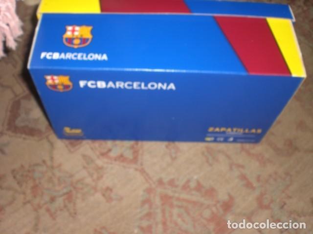 Coleccionismo deportivo: caja zapatillas Barça - Foto 4 - 164800474