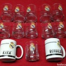 Coleccionismo deportivo: VASOS REAL MADRID. Lote 165609574