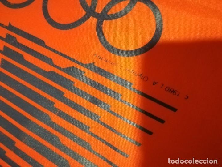 Coleccionismo deportivo: AÑOS 80 BOLSA TELA PUBLICIDAD MARCA ADIDAS Y OLIMPICS 1980 OLIMPIADAS - Foto 3 - 165955658