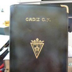 Coleccionismo deportivo: CARPETA DEL XXIX TROFEO CARRANZA. Lote 166023078
