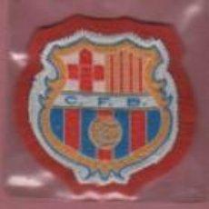 Coleccionismo deportivo: ESCUDO FELPA DEL FUTBOL CLUB BARCELONA - BARÇA - AÑOS 60 APROXMTE. Lote 166557042
