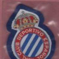 Coleccionismo deportivo: ESCUDO FELPA DEL FUTBOL - REAL CLUB DEPORTIVO ESPAÑOL. Lote 166557234