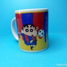Coleccionismo deportivo: TAZA DEL BARÇA SHINCHAN. Lote 168256148