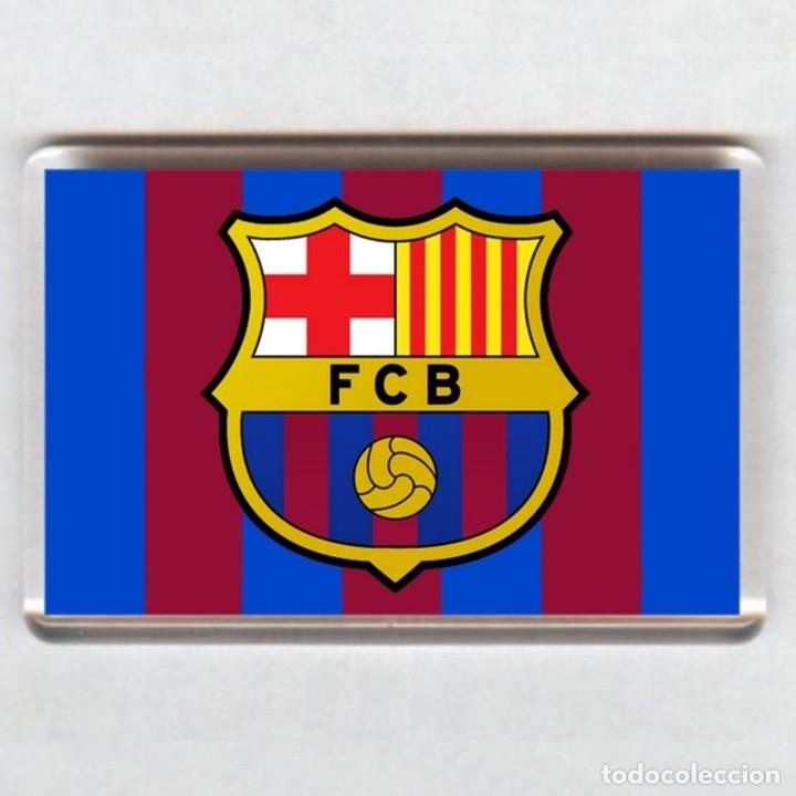 IMAN ACRILICO NEVERA - FUTBOL # BARCELONA FC (Coleccionismo Deportivo - Merchandising y Mascotas - Futbol)