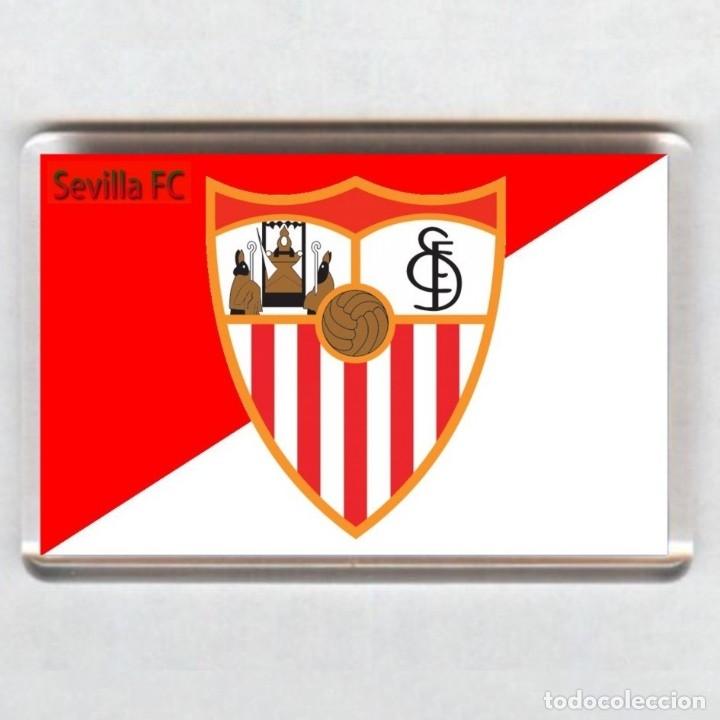 IMAN ACRÍLICO NEVERA - FUTBOL # SEVILLA FC (Coleccionismo Deportivo - Merchandising y Mascotas - Futbol)