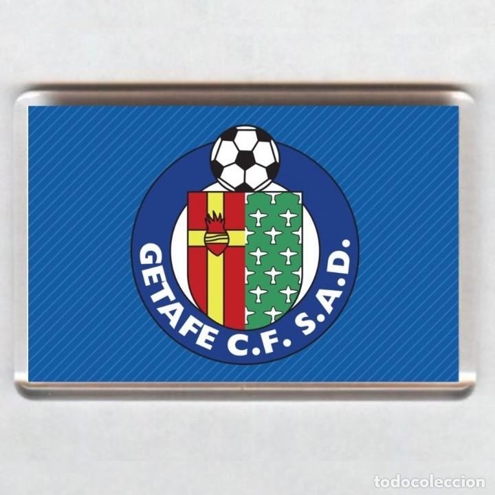 IMAN ACRÍLICO NEVERA - FUTBOL # GETAFE (Coleccionismo Deportivo - Merchandising y Mascotas - Futbol)