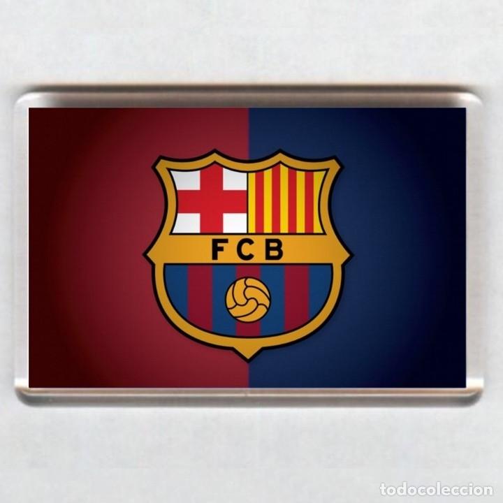 IMAN ACRÍLICO NEVERA - FUTBOL # BARCELONA FC (Coleccionismo Deportivo - Merchandising y Mascotas - Futbol)
