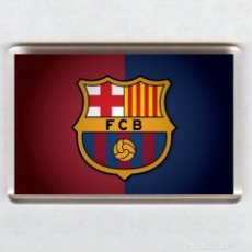 Coleccionismo deportivo: IMAN ACRÍLICO NEVERA - FUTBOL # BARCELONA FC. Lote 41485321