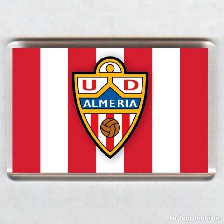 IMAN ACRÍLICO NEVERA - FUTBOL # ALMERIA (Coleccionismo Deportivo - Merchandising y Mascotas - Futbol)