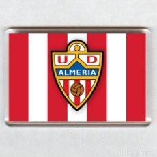 Coleccionismo deportivo: IMAN ACRÍLICO NEVERA - FUTBOL # ALMERIA. Lote 41743392