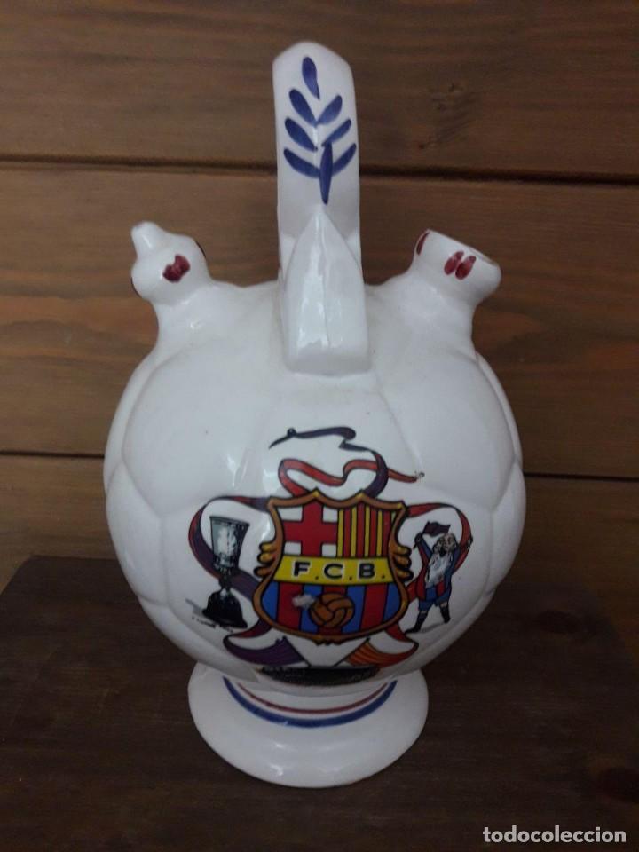 BOTIJO DEL BARÇA, DEL CLUB FUTBOL BARCELONA, CÀNTIR DEL BARÇA (Coleccionismo Deportivo - Merchandising y Mascotas - Futbol)