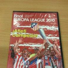 Coleccionismo deportivo: DVD FÚTBOL COLCHONERO - FINAL EUROPA LEAGUE 2010 - ATLÉTICO DE MADRID VS FULHAM. NUEVO, PRECINTADO. Lote 169571560
