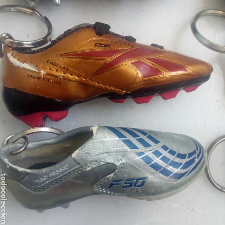 Coleccionismo deportivo: 6 LLAVEROS BOTAS FÚTBOL DIARIO MARCA - Foto 6 - 169742508