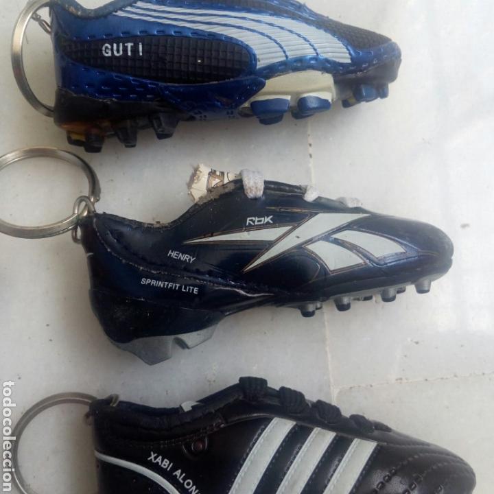 Coleccionismo deportivo: 6 LLAVEROS BOTAS FÚTBOL DIARIO MARCA - Foto 7 - 169742508