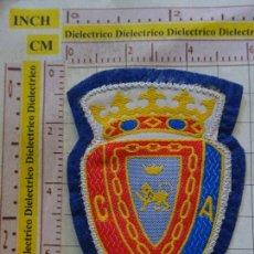 Coleccionismo deportivo: PARCHE DE FÚTBOL. TELA. CLUB DEPORTIVO OSASUNA. Lote 169767372