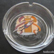 Coleccionismo deportivo: CENICERO CRISTAL FUTBOL CLUB BARCELONA. BARÇA. Lote 169790368