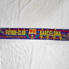 Coleccionismo deportivo: BUFANDA FUTBOL CLUB BARCELONA TETRACAMPEON 90-91 / 91-92 / 92-93 / 93-94. Lote 169828100