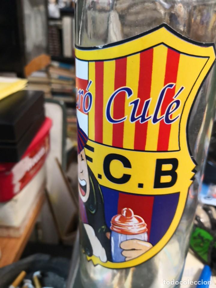 Coleccionismo deportivo: Biberon cule. F. C. BARCELONA birero cule. Año 1989 producto oficial - Foto 3 - 169836704