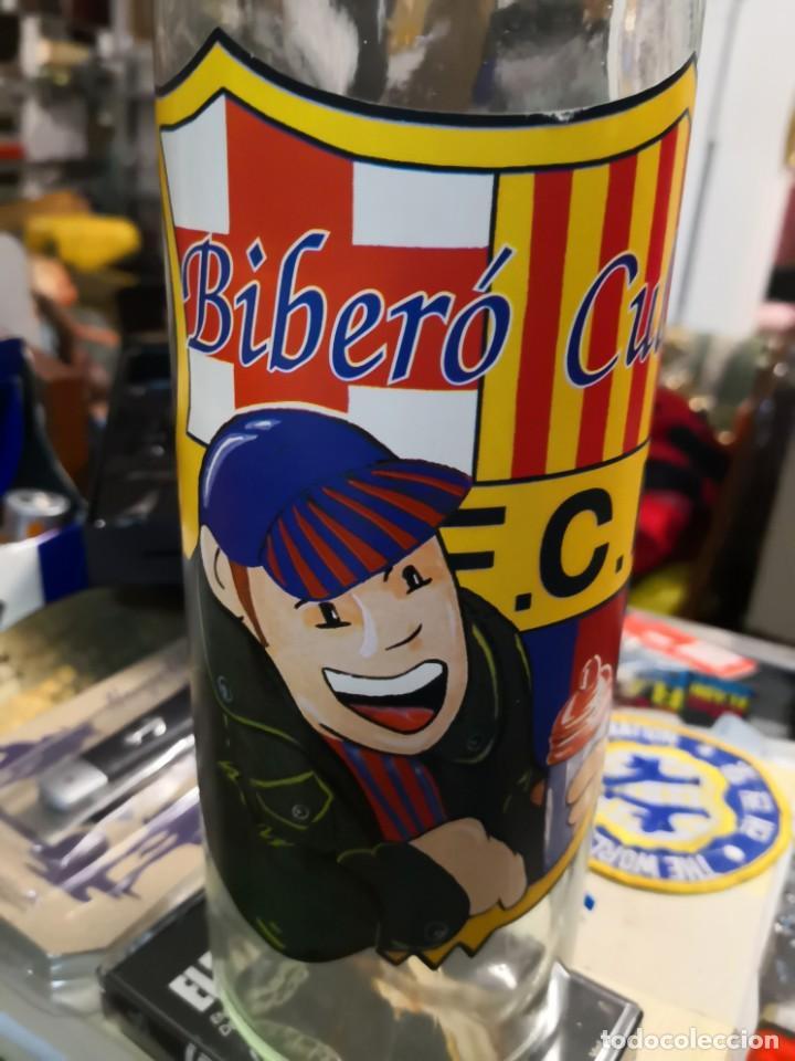 Coleccionismo deportivo: Biberon cule. F. C. BARCELONA birero cule. Año 1989 producto oficial - Foto 4 - 169836704