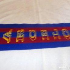 Coleccionismo deportivo: BUFANDA C. F. BARCELONA . Lote 170051096