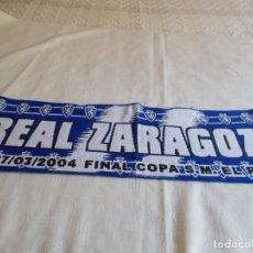 Coleccionismo deportivo: BUFANDA REAL ZARAGOZA. Lote 170060004