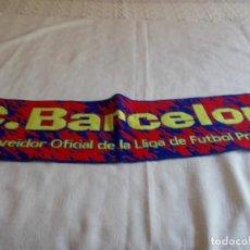 Coleccionismo deportivo: BUFANDA C.F. BARCELONA . Lote 170066856