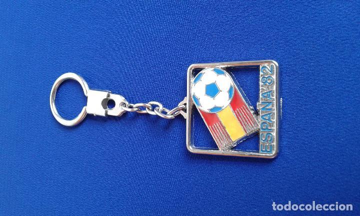 LLAVERO ESPAÑA 82 (Coleccionismo Deportivo - Merchandising y Mascotas - Futbol)