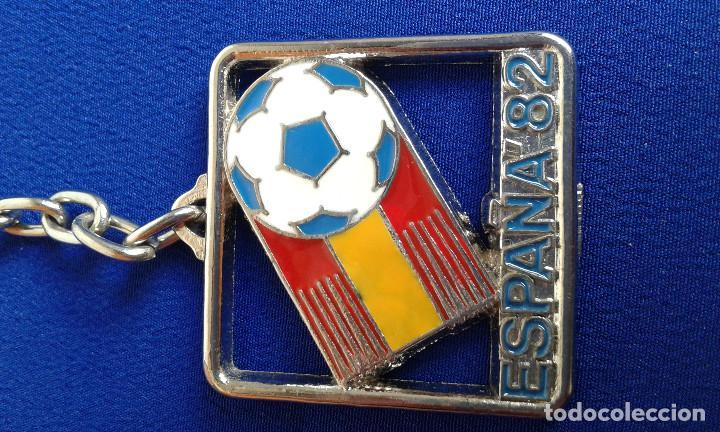 Coleccionismo deportivo: LLAVERO ESPAÑA 82 - Foto 2 - 170083548