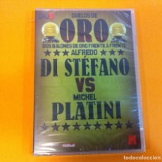 Coleccionismo deportivo: DVD FÚTBOL - DUELOS DE BALÓN DE ORO Nº 3 - ALFREDO DI STÉFANO VS PLATINI. PRECINTADO. OFERTA 3X2. Lote 170662085