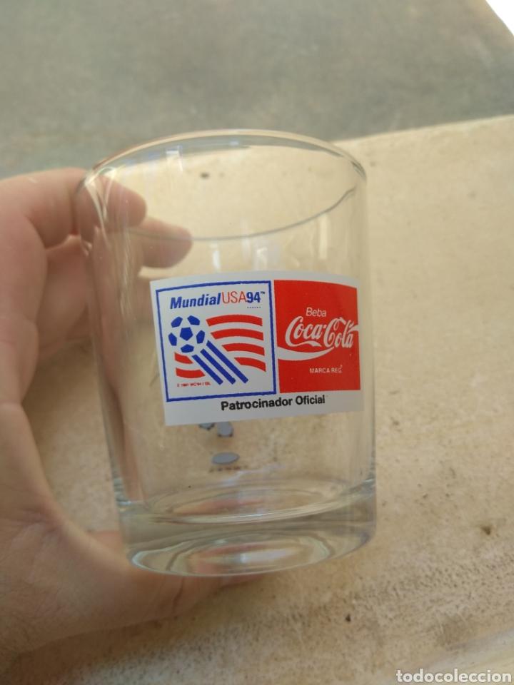 Coleccionismo deportivo: Antiguo Vaso Promocional Mundial de Fútbol Usa 94 - Coca Cola - - Foto 2 - 170859593