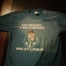 Coleccionismo deportivo: CAMISETA FÚTBOL OPORTO CAMPEAO, DRAGAO, PORTUGAL. Lote 171149504