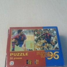 Coleccionismo deportivo: PUZZLE SUPER BARÇA 96 DE 50 PIEZAS Nº 23 AMOR Y ABELARDO - EL MUNDO DEPORTIVO . Lote 171343860