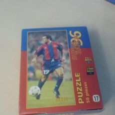 Coleccionismo deportivo: PUZZLE SUPER BARÇA 96 DE 50 PIEZAS Nº 17 SERGI - EL MUNDO DEPORTIVO . Lote 171344147