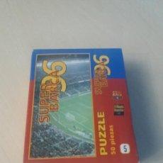 Coleccionismo deportivo: PUZZLE SUPER BARÇA 96 DE 50 PIEZAS Nº 5 CAMP NOU ( 1 ) - EL MUNDO DEPORTIVO . Lote 171344854
