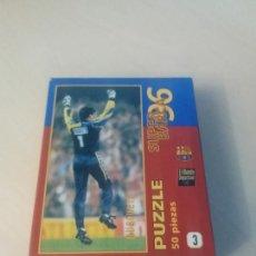 Coleccionismo deportivo: PUZZLE SUPER BARÇA 96 DE 50 PIEZAS Nº 3 BUSQUETS - EL MUNDO DEPORTIVO . Lote 171344953