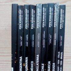 Coleccionismo deportivo: FIFA WORLD CUP - LOTE 9 DVD + LIBRO. Lote 171442597