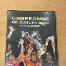 Coleccionismo deportivo: DVD FÚTBOL - FC BARCELONA VS MANCHESTER UNITED - FINAL CHAMPIONS 2009. PRECINTADO. Lote 171690380