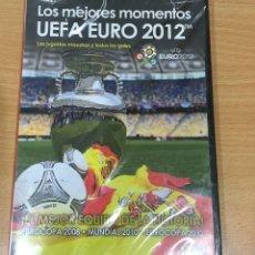 Coleccionismo deportivo: DVD FÚTBOL - LOS MEJORES MOMENTOS DE LA EUROCOPA 2012 - UEFA EURO 12. PRECINTADO. Lote 171690878