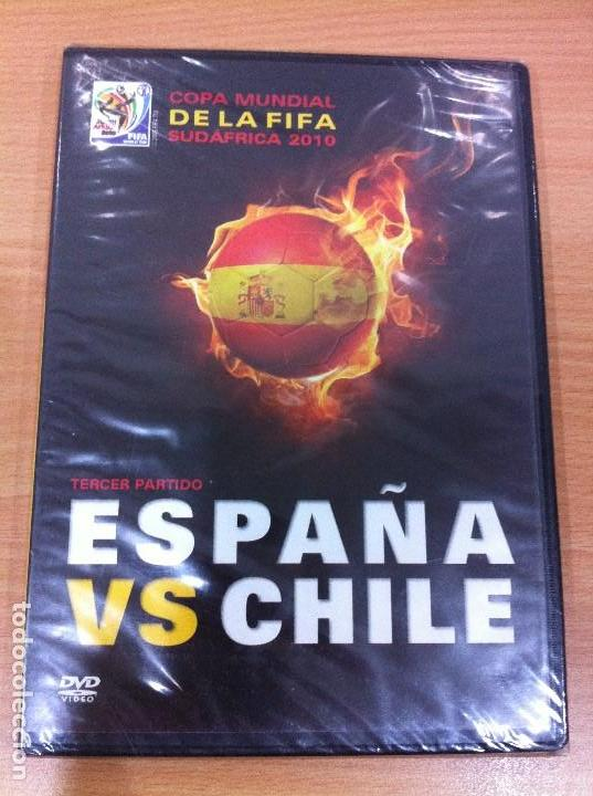 DVD FÚTBOL - MUNDIAL SUDÁFRICA 2010 - ESPAÑA VS CHILE - TERCER PARTIDO. PRECINTADO (Coleccionismo Deportivo - Merchandising y Mascotas - Futbol)