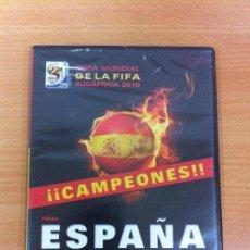 Coleccionismo deportivo: DVD FÚTBOL - MUNDIAL SUDÁFRICA 2010 - FINAL ESPAÑA VS HOLANDA. PRECINTADO. Lote 171691194