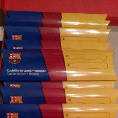 Coleccionismo deportivo: 11 JUEGOS DE CUCHILLO SIERRA Y TENEDOR BARÇA. Lote 171797820