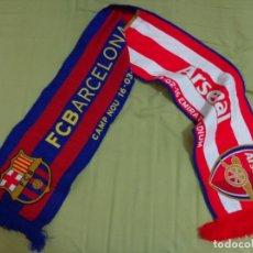 Coleccionismo deportivo: BUFANDA CHAMPIONS LEAGUE 'F.C BARCELONA VS ARSENAL' 16-3-2016. Lote 172922535