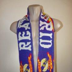 Coleccionismo deportivo: BUFANDA REAL MADRID CF. Lote 173407672