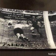 Coleccionismo deportivo: ANTIGUO CENICERO FÚTBOL ZARRA. Lote 173982933