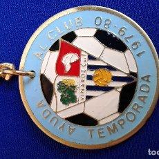 Coleccionismo deportivo: LLAVERO VINAROZ CLUB DE FUTBOL- 1979-80. Lote 174105440