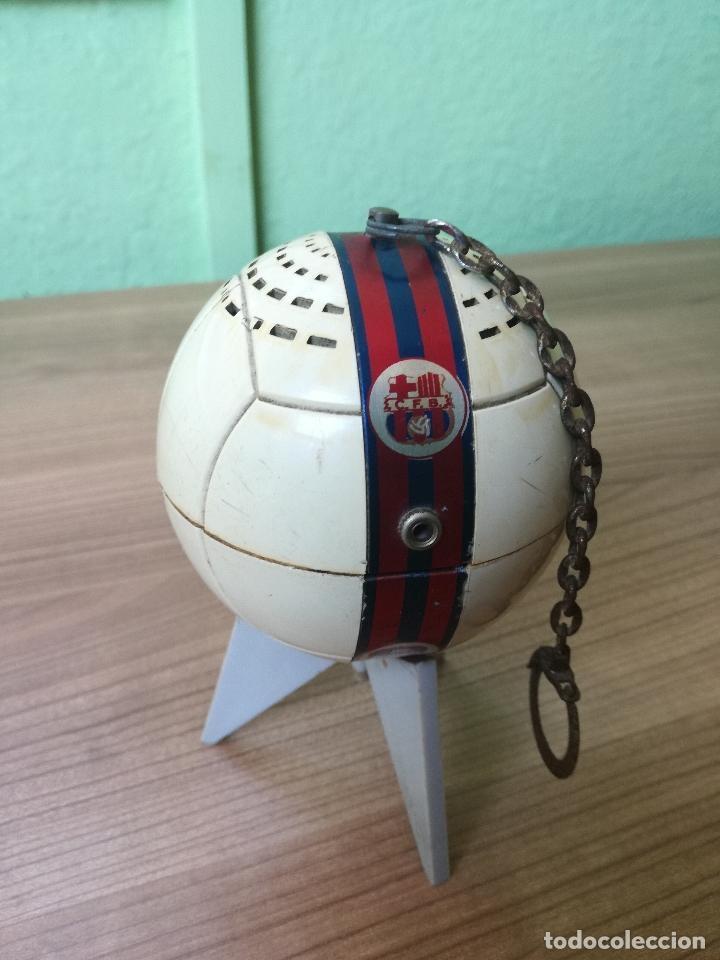 Coleccionismo deportivo: ANTIGUO TRANSISTOR DEL CLUB DE FUTBOL BARCELONA - ANTIGUA RADIO LLAVERO MUY RARA - Foto 7 - 174702302