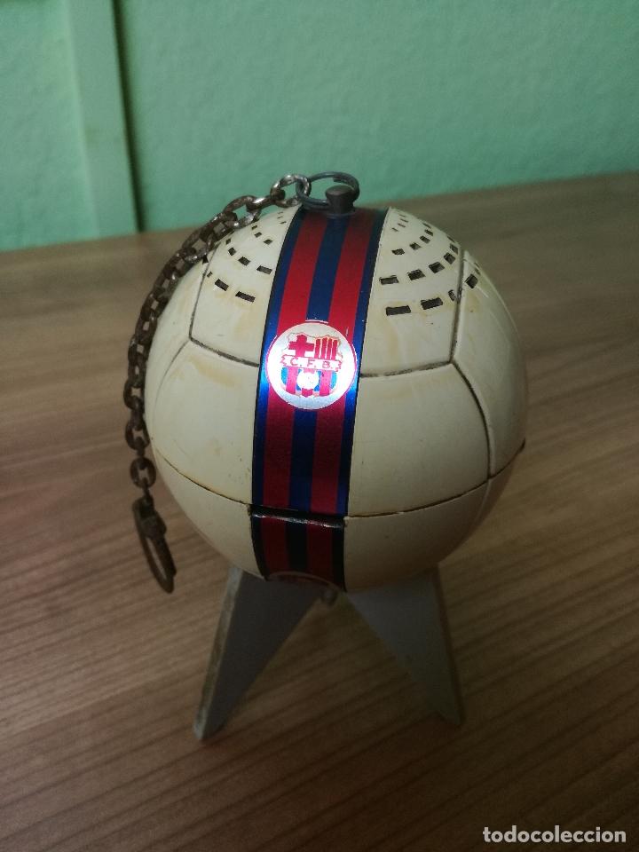 Coleccionismo deportivo: ANTIGUO TRANSISTOR DEL CLUB DE FUTBOL BARCELONA - ANTIGUA RADIO LLAVERO MUY RARA - Foto 9 - 174702302